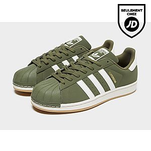 superstar adidas kaki