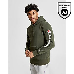 Champion Sweat à capuche Sleeve Logo Homme ... 1642f7e2b6c