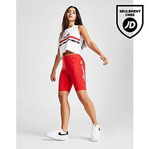 Ellesse Short de cycliste Logo Cycle Femme ... 5dd2a8d424b