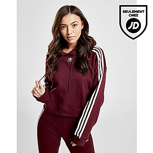 adidas Originals Sweat 3-Stripes Crop Femme ... 94c088a2d0b