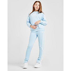 2c2dddb06b160 ... adidas Originals Sweat Girls  Logo Crew Junior