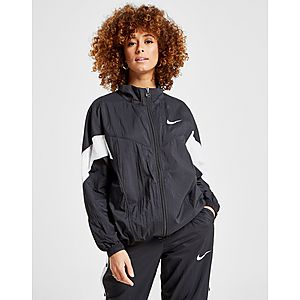 1b8341f41e6a Nike Nylon Colour Block Full Zip Jacket ...