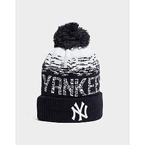 d354a233bd ... New Era Bonnet à pompon MLB Sideline New York Yankees
