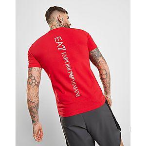 24bd965b15f ... Emporio Armani EA7 T-shirt Training Logo au Dos Homme