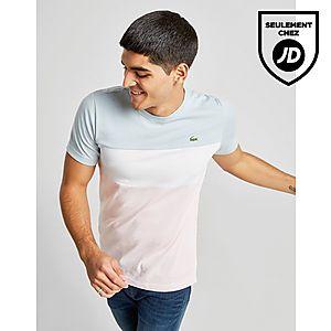 6c2cec65bb Lacoste T-Shirt Tri Colour Block Homme ...