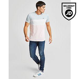 8d9ec01b3ad ... Lacoste Tri Colour Block T-Shirt