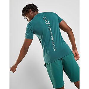 9fd0347ec4 ... Emporio Armani EA7 T-shirt Manches Courtes Logo Dos Homme