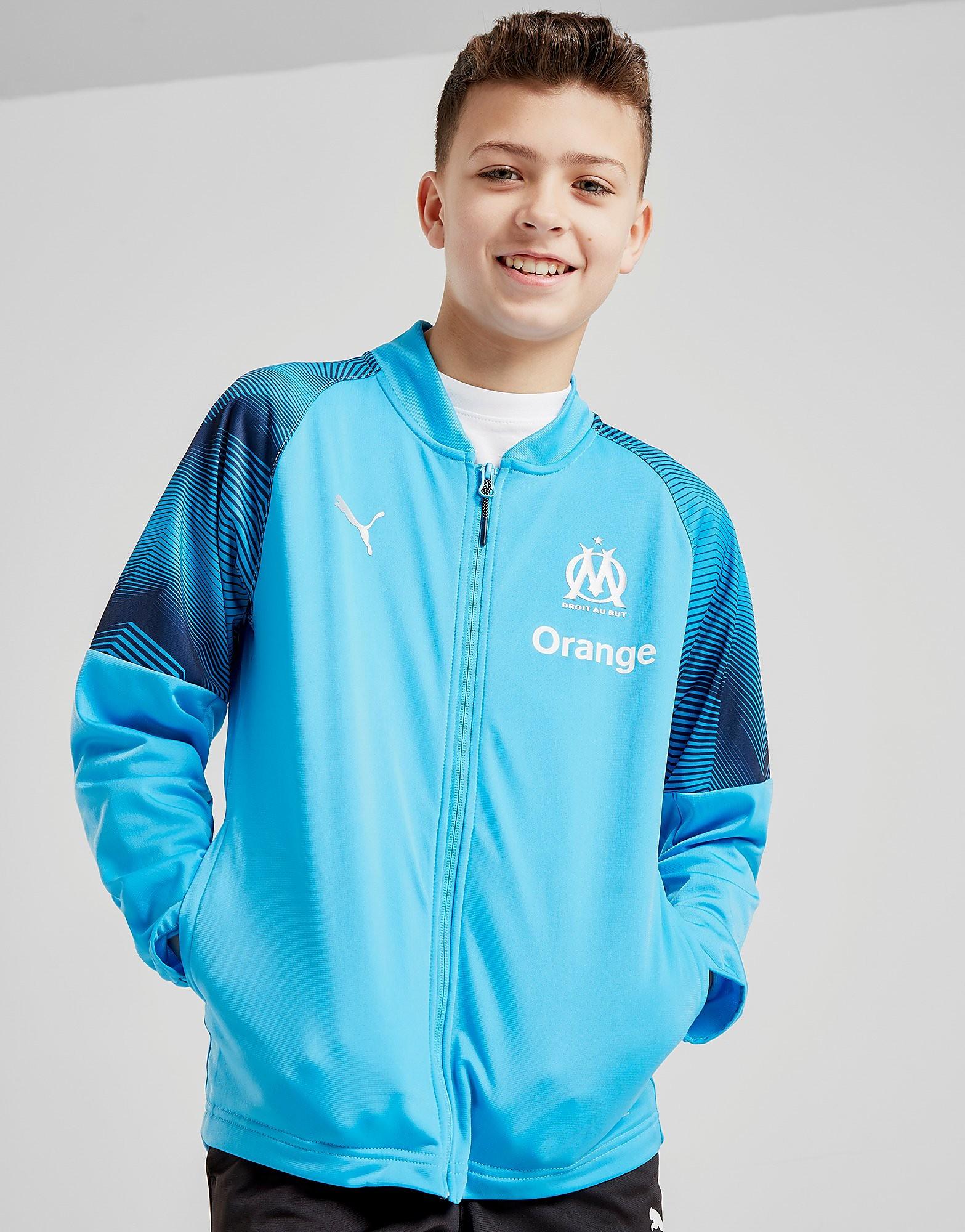 PUMA Veste zippée Stade Olympique Marseille Junior