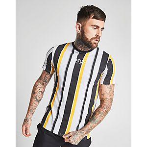 0059b1b3d65 STATUS T-shirt Macca Stripe Homme ...