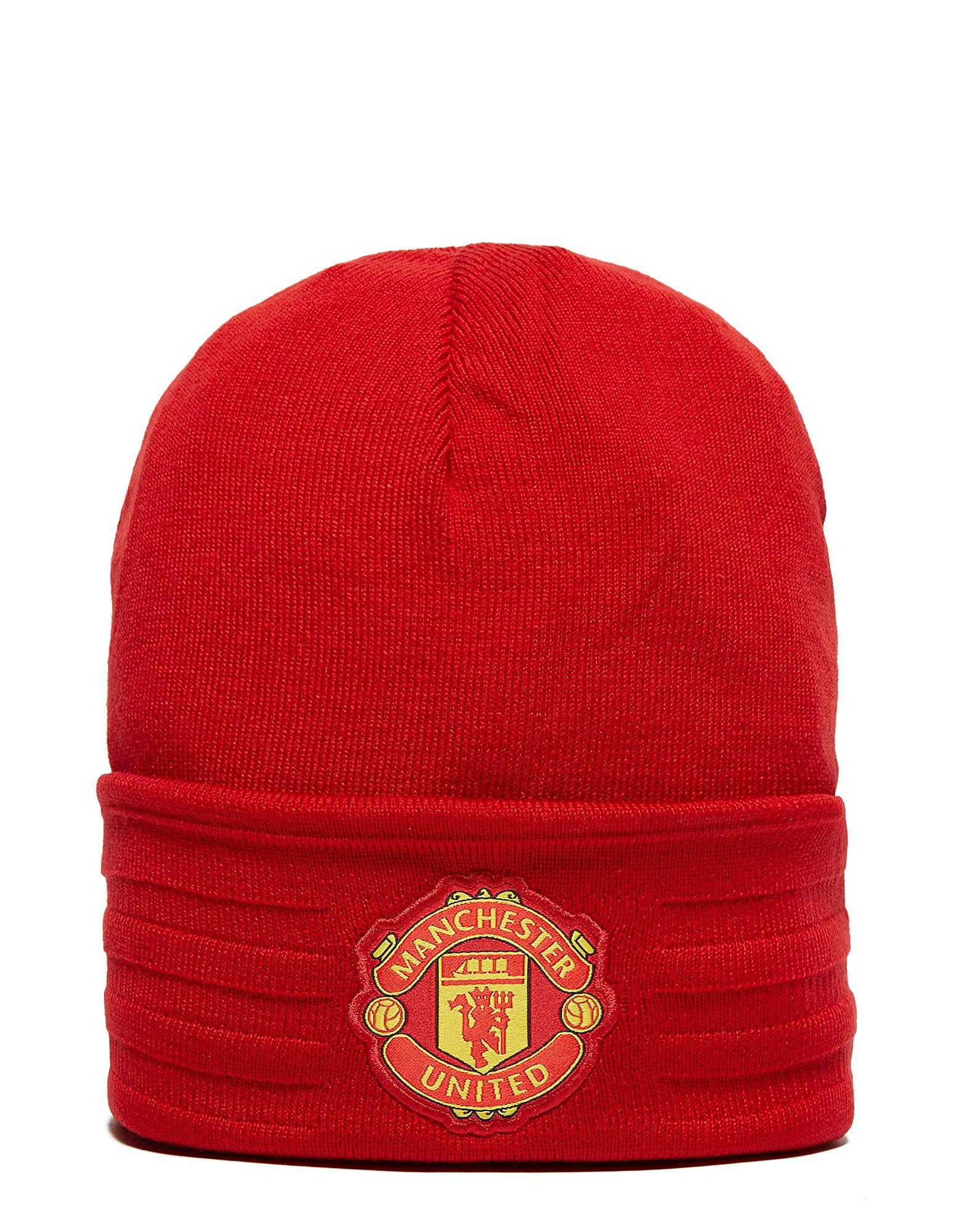 adidas Bonnet en laine Manchester United à 3bandes