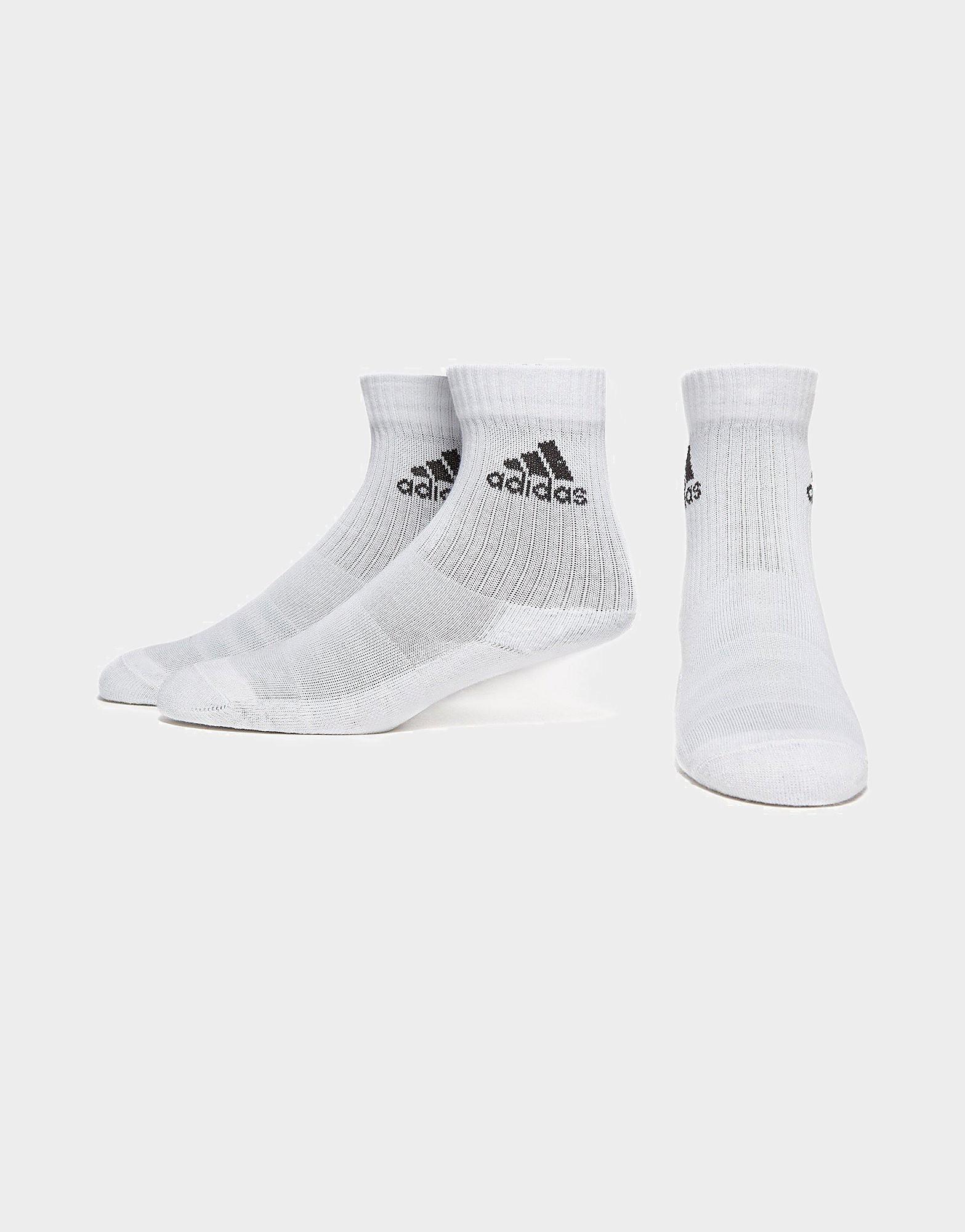 adidas 3-Stripes Performance Crew 3 Pack Socks