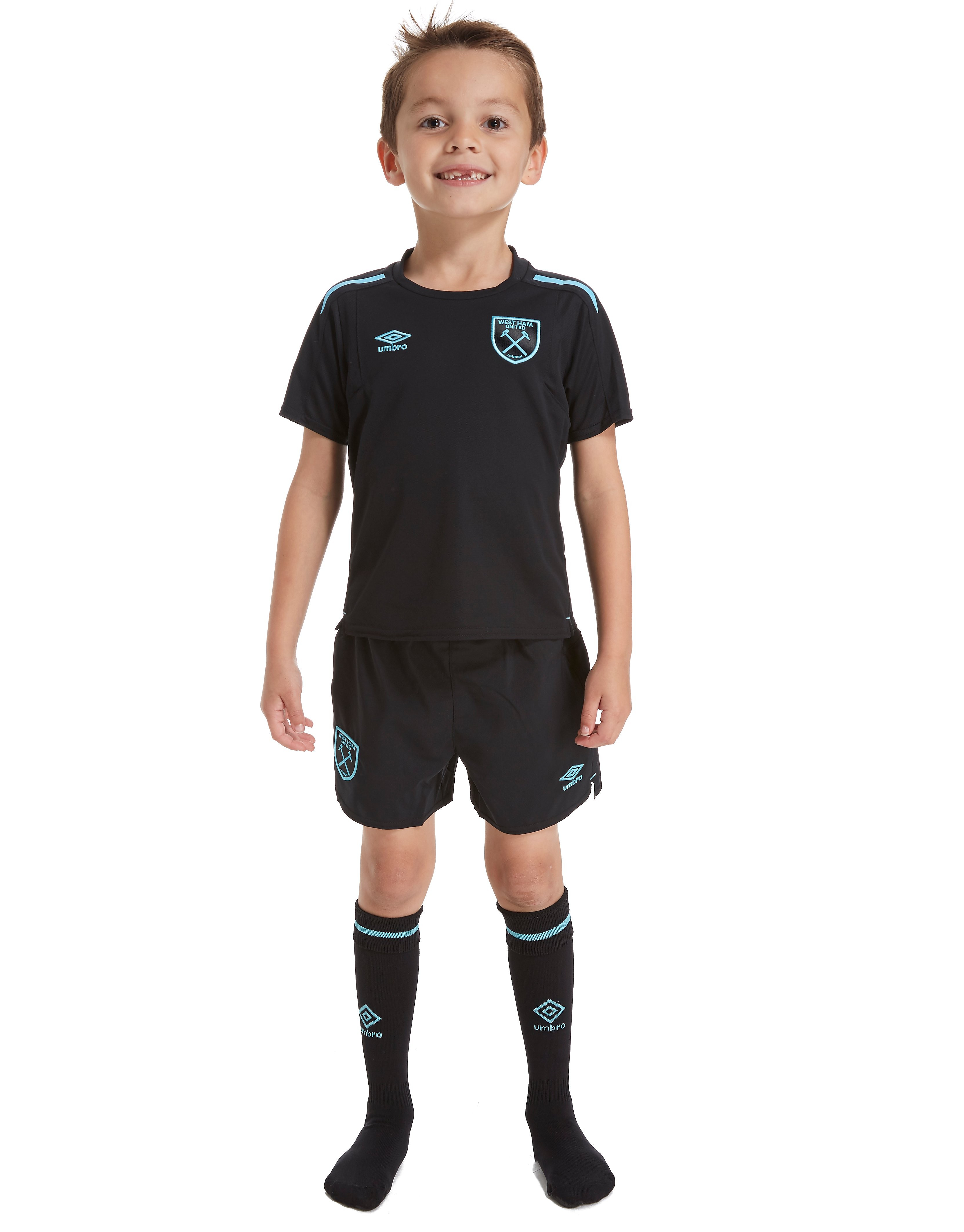 Umbro West Ham Utd 2017/18 Away Kit Children