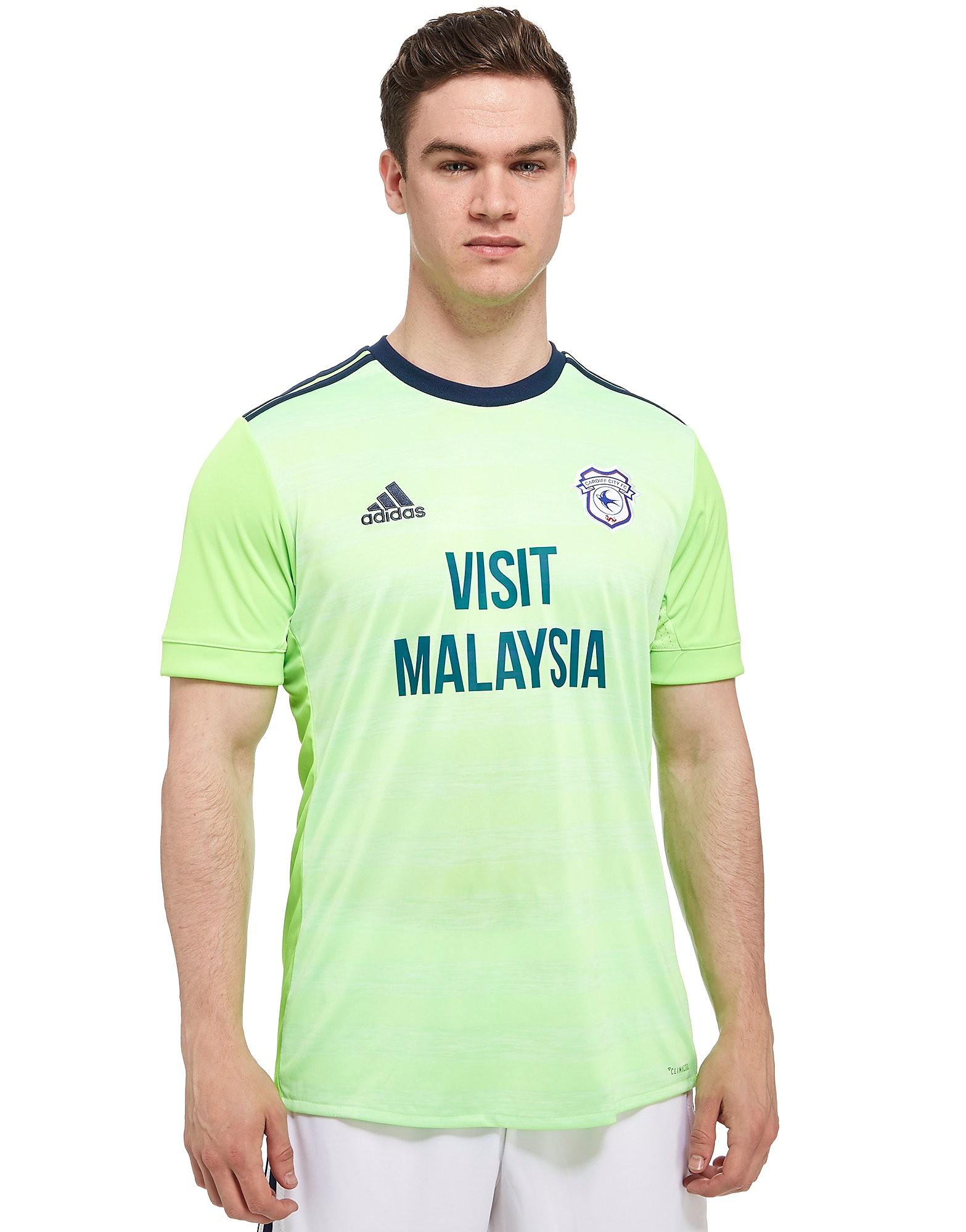 adidas Cardiff City FC 2017/18 Away Shirt