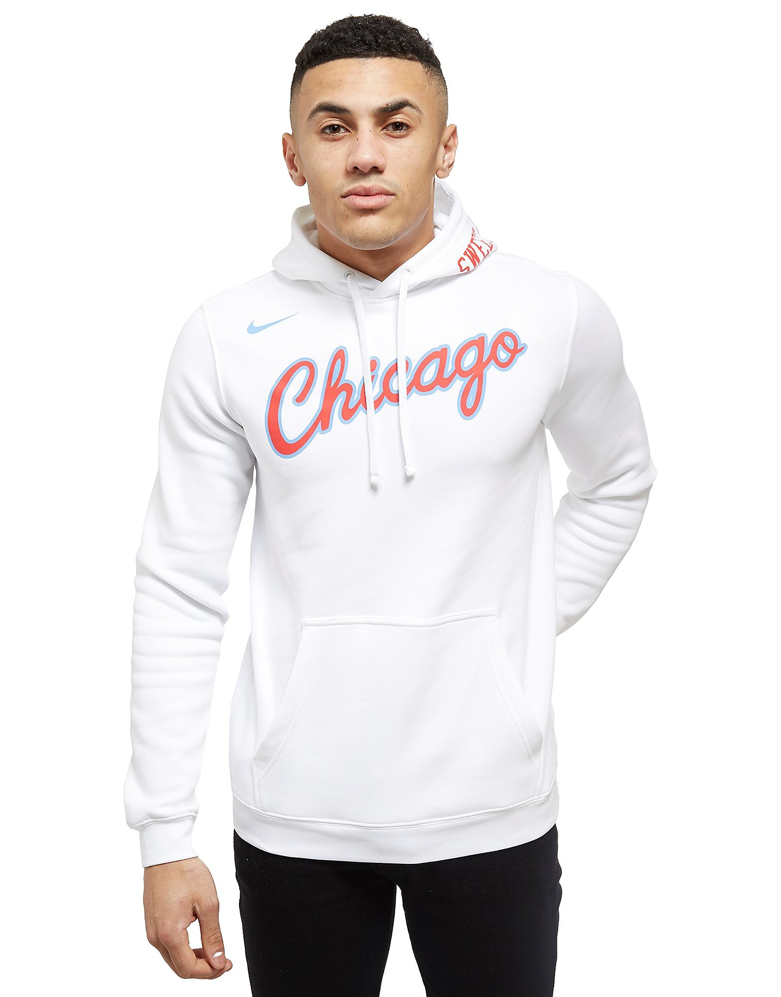 Nike Sweat à capuche NBA Chicago Bulls City Homme