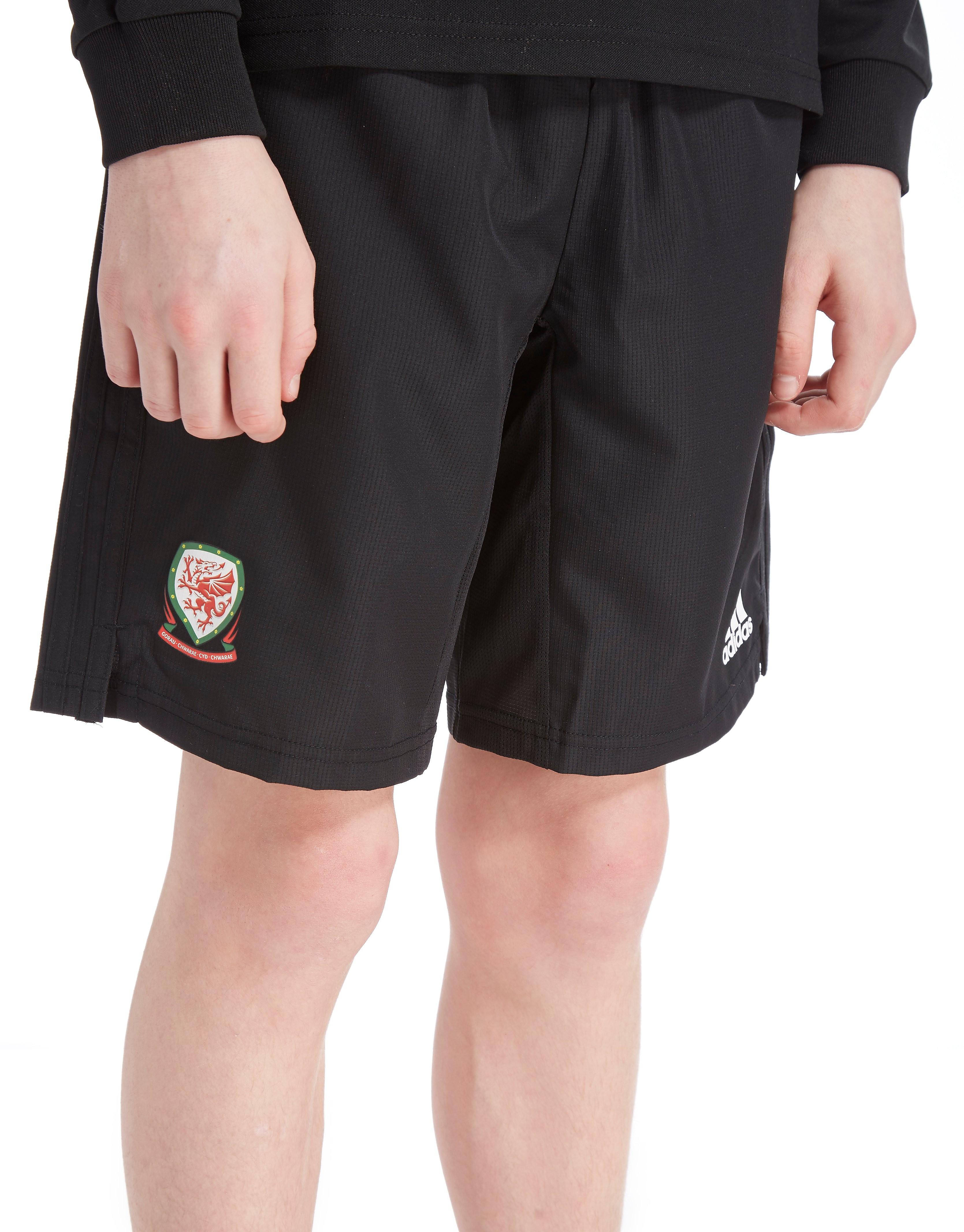 adidas FA Wales 2018 Woven Shorts Junior