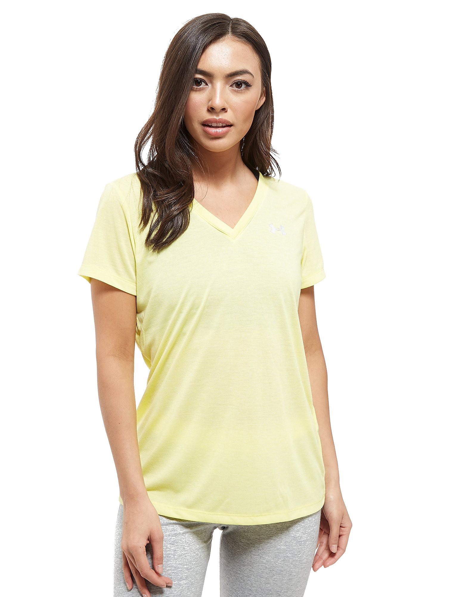 Under Armour Threadborne V-Neck Short Sleeve T-Shirt