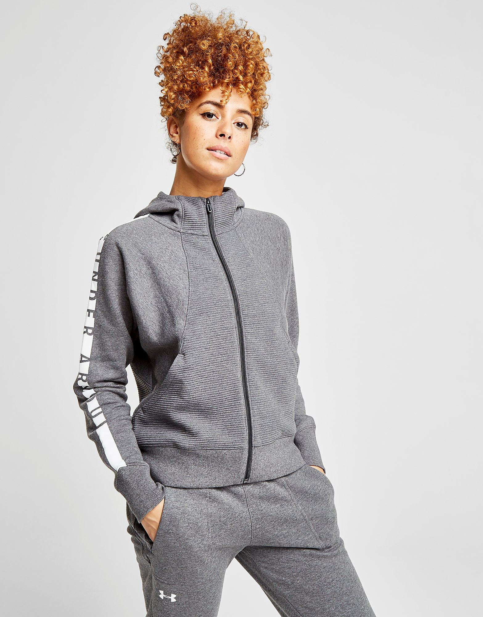 Under Armour Panel Fleece Hoodie