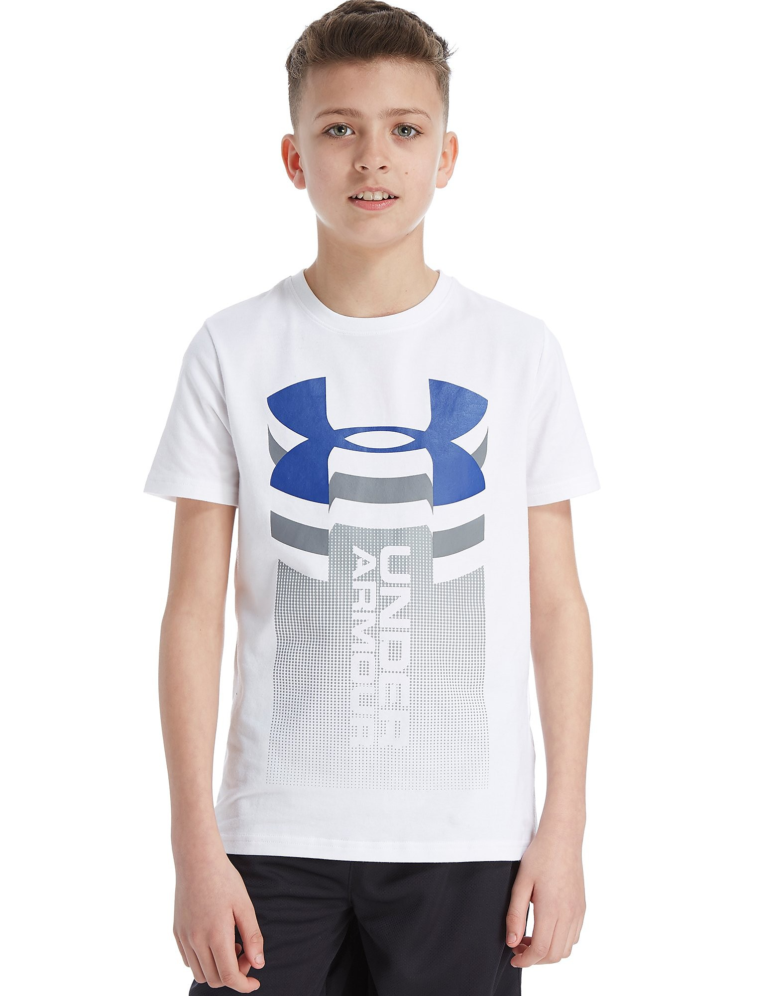 Under Armour Vertical Logo T-Shirt Junior