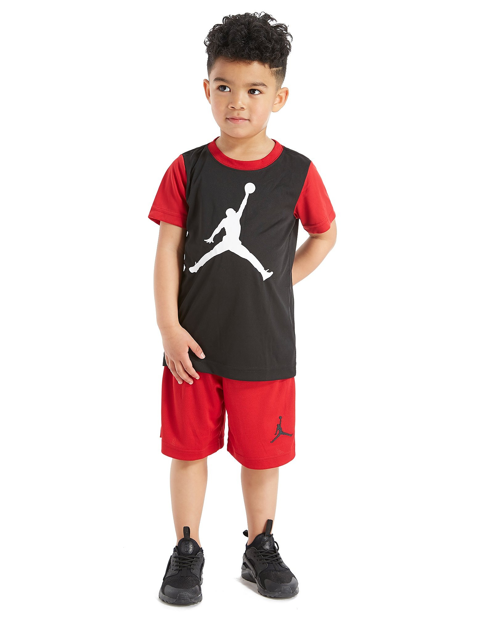 Jordan Jumpman 4 Life T-Shirt/Short Set Children