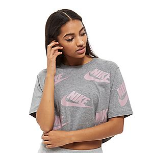 6c226c9ca7d1 Nike Futura All-Over-Print Crop Top ...