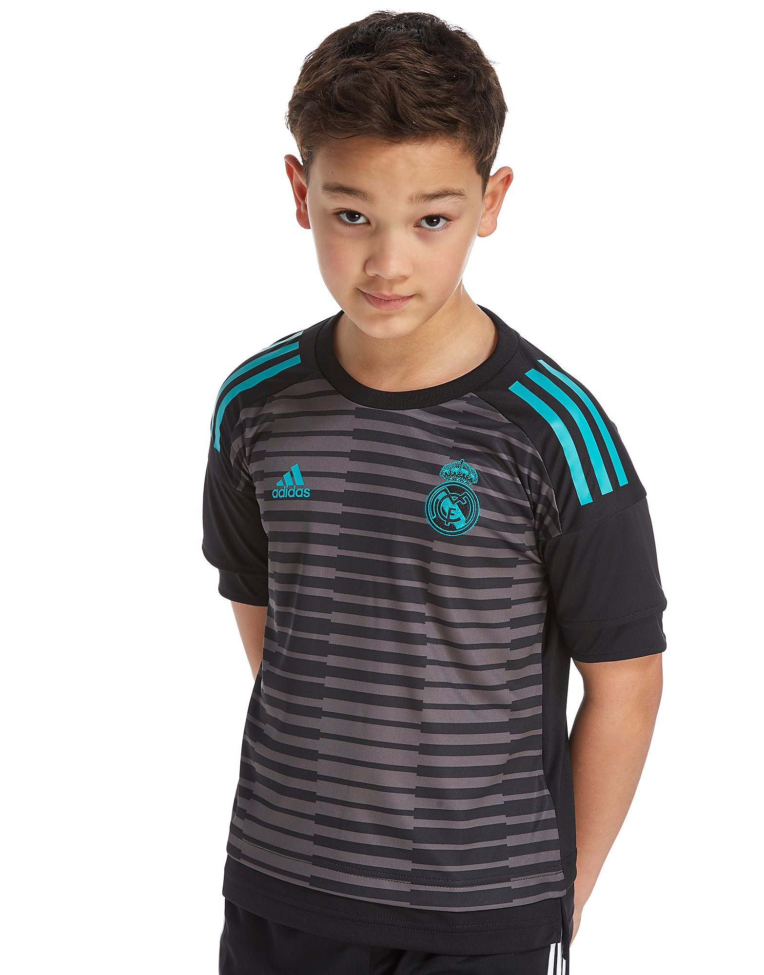 adidas Real Madrid 2018 Pre-Match Home Shirt Junior