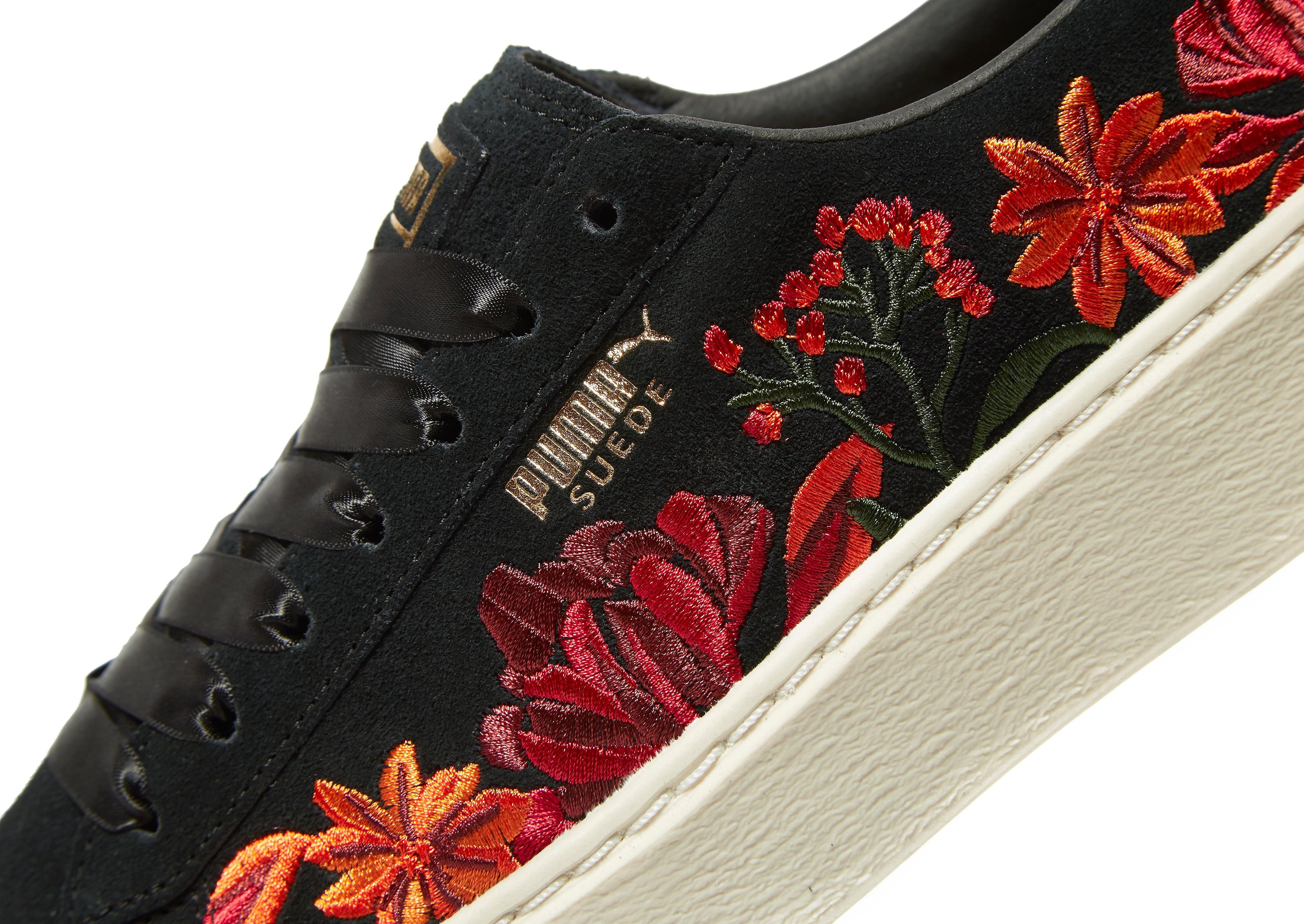 PUMA Suede Platform Floral Women's