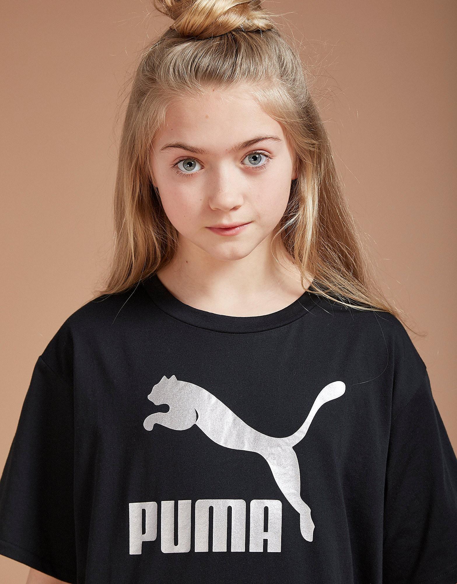 PUMA Girls' Classic Boyfriend T-Shirt Junior