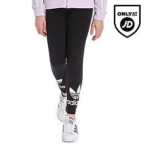 adidas Originals Girls' Trefoil Leggings Junior ...