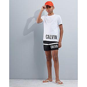 acddfceff6d6 Calvin Klein Logo Swim Shorts Junior ...