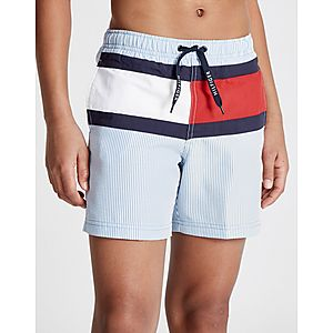 81ebcf582906f4 Tommy Hilfiger Stripe Flag Swim Shorts Junior ...