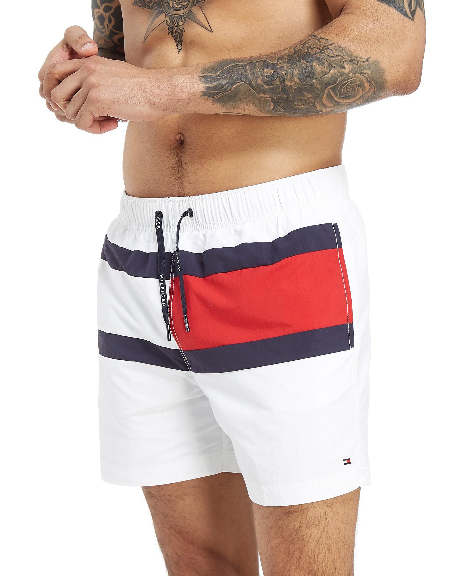 Tommy Hilfiger Central Flag Swim Shorts