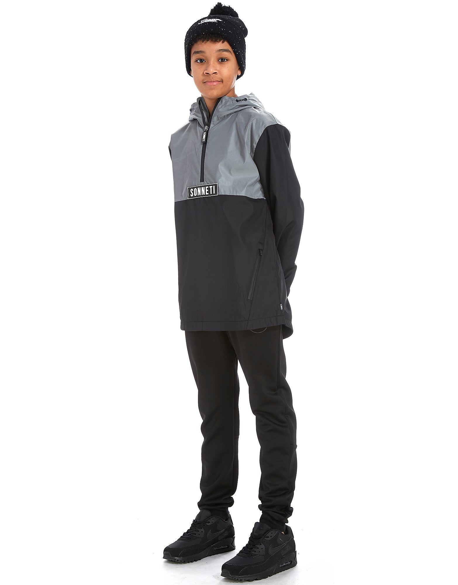 Sonneti Cyber 1/2 Zip Overhead Jacket Junior