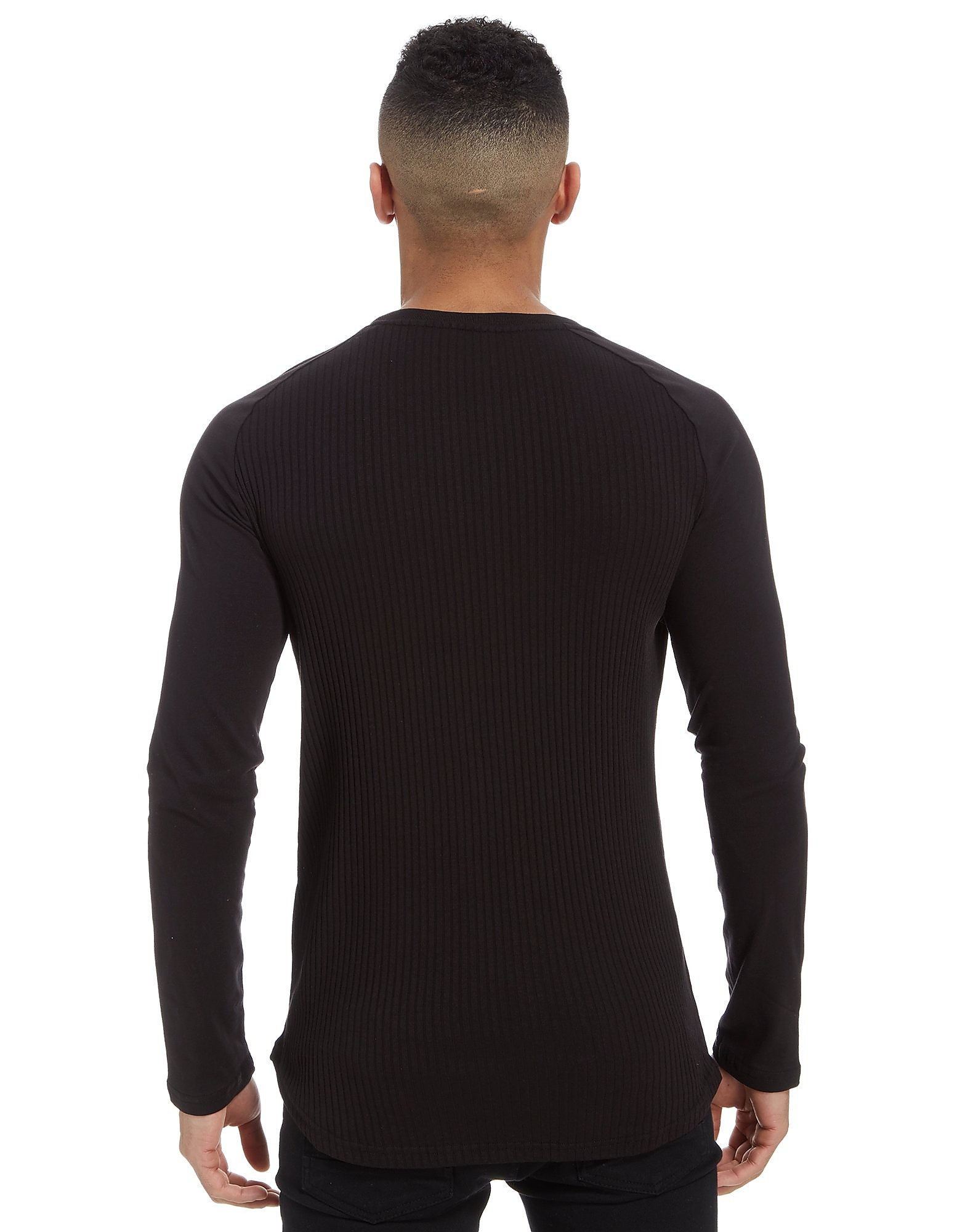 Sonneti Ribbed Raglan Long Sleeve T-Shirt