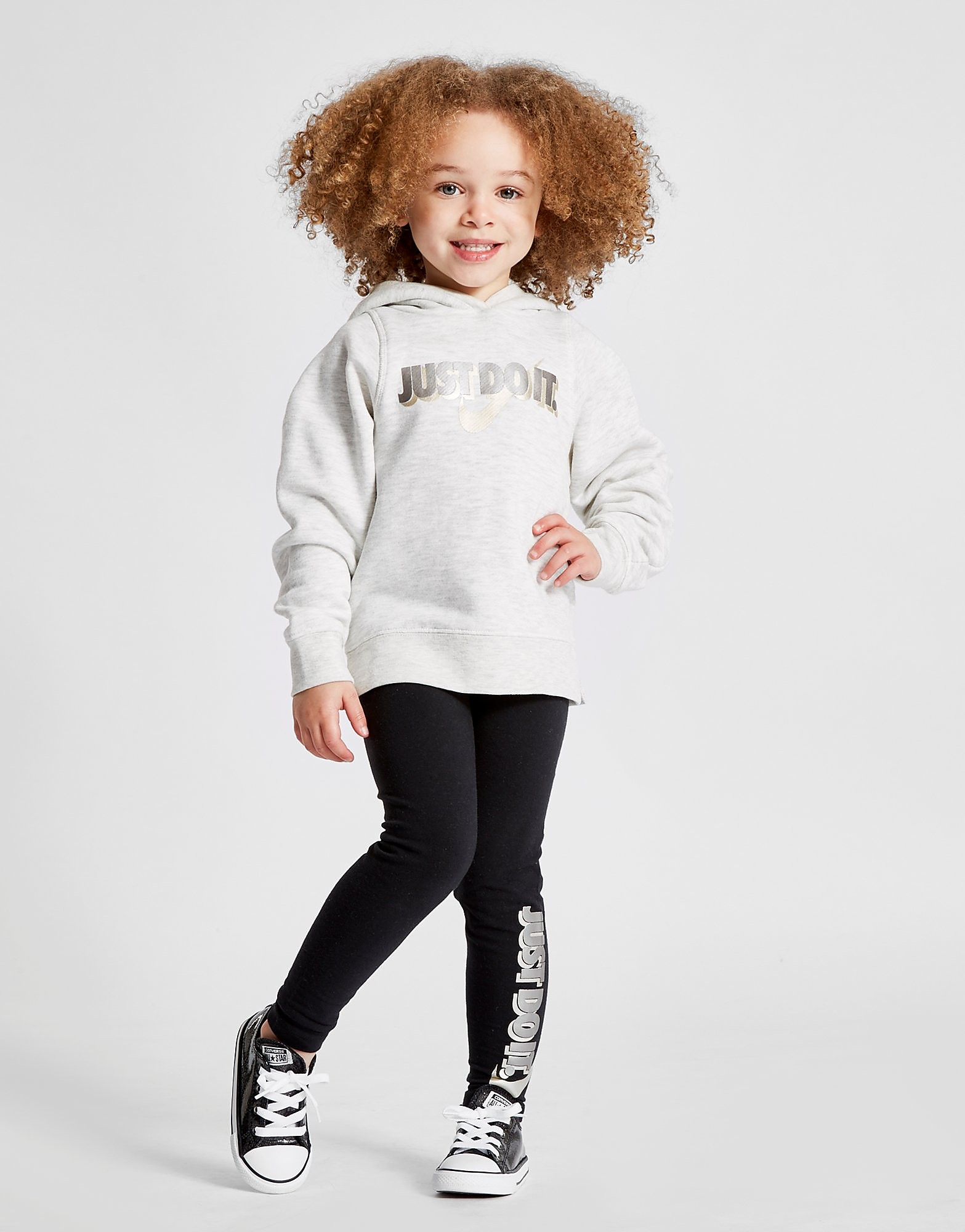 Nike Girls' Just Do It Hoodie & Leggings Set Children