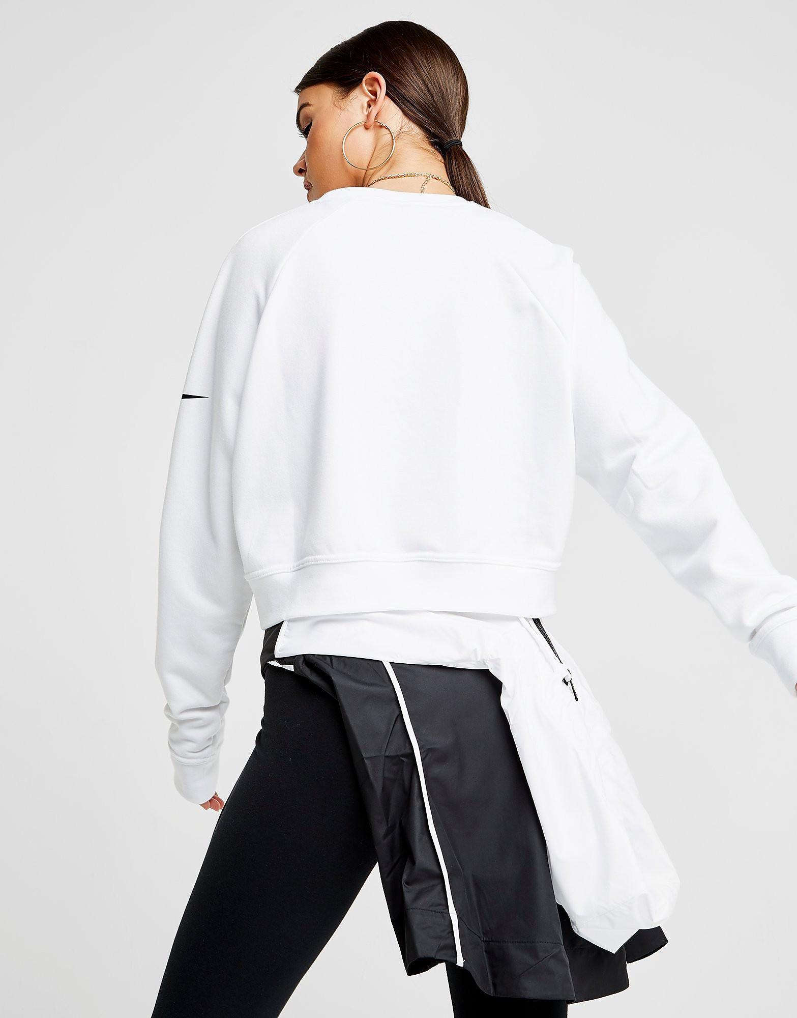 Nike Training Crop Just Do It Crew Sweatshirt