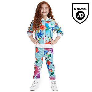 adidas Originals Girls  Floral Superstar Suit Children ... cf9f918696
