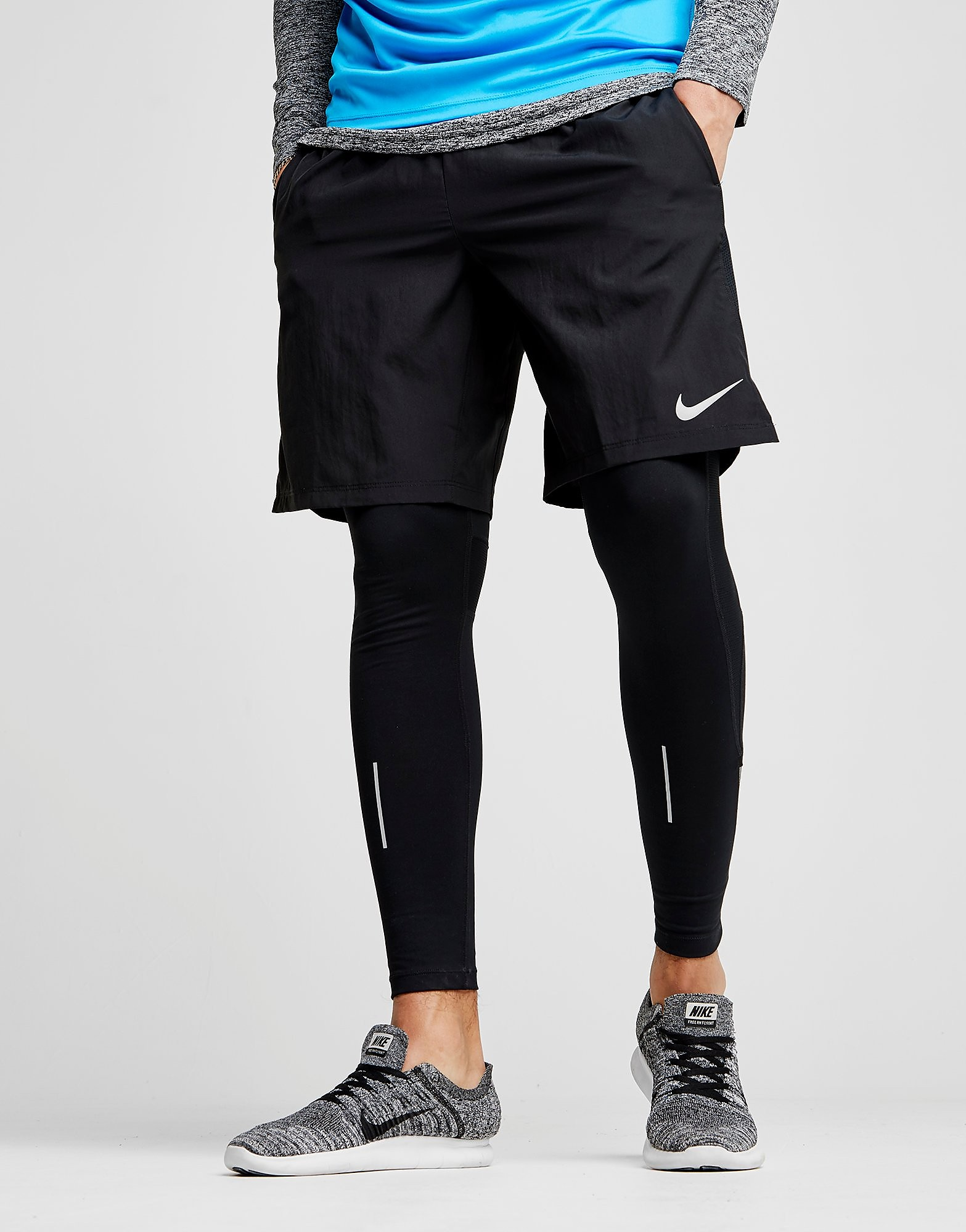 "Nike 9"" Challanger Shorts"