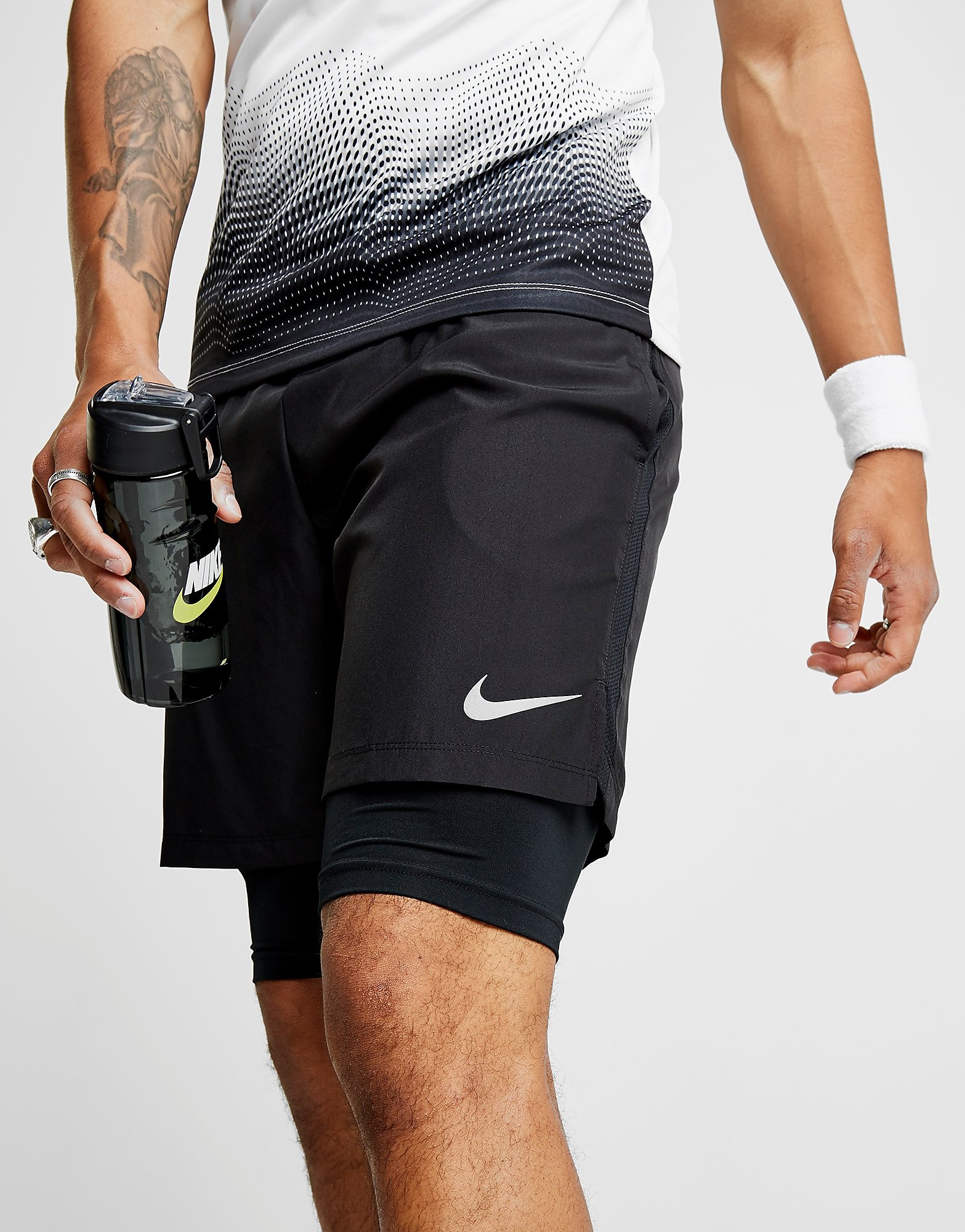 "Nike 7"" Challenger 2 in 1 Shorts"