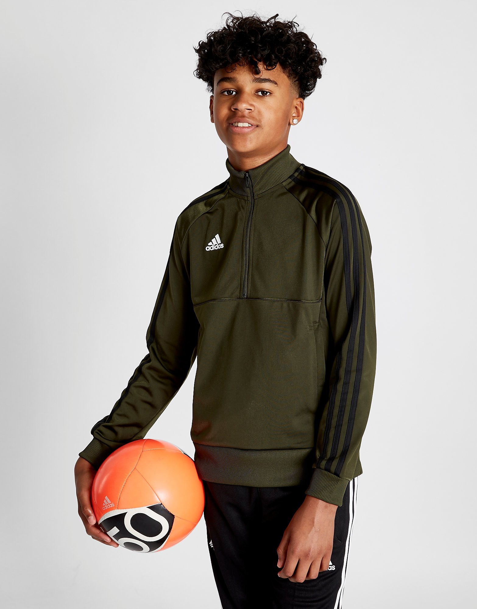 adidas Tango 1/4 Zip Track Top Junior