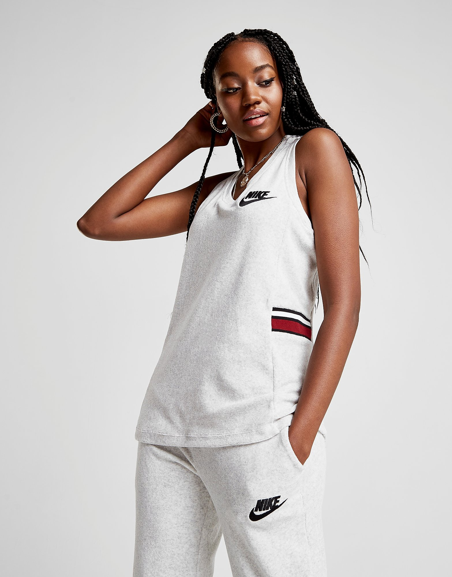 Nike Towel Stripe Tank Top