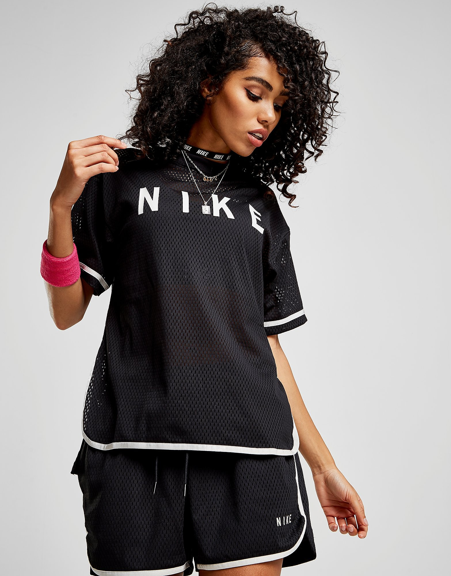 Nike Mesh Short Sleeve Top
