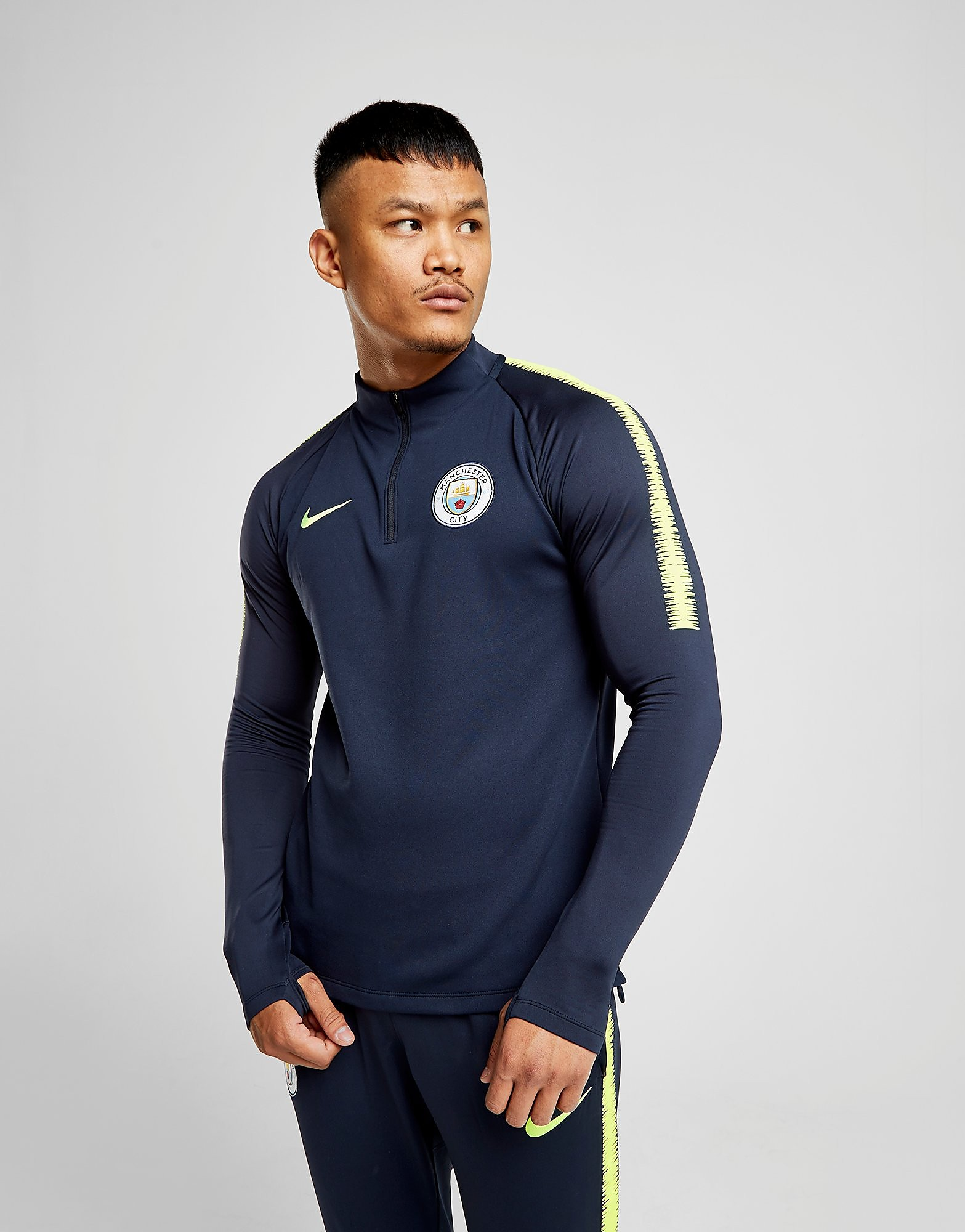Nike Manchester City 2018/19 Squad Drill Top