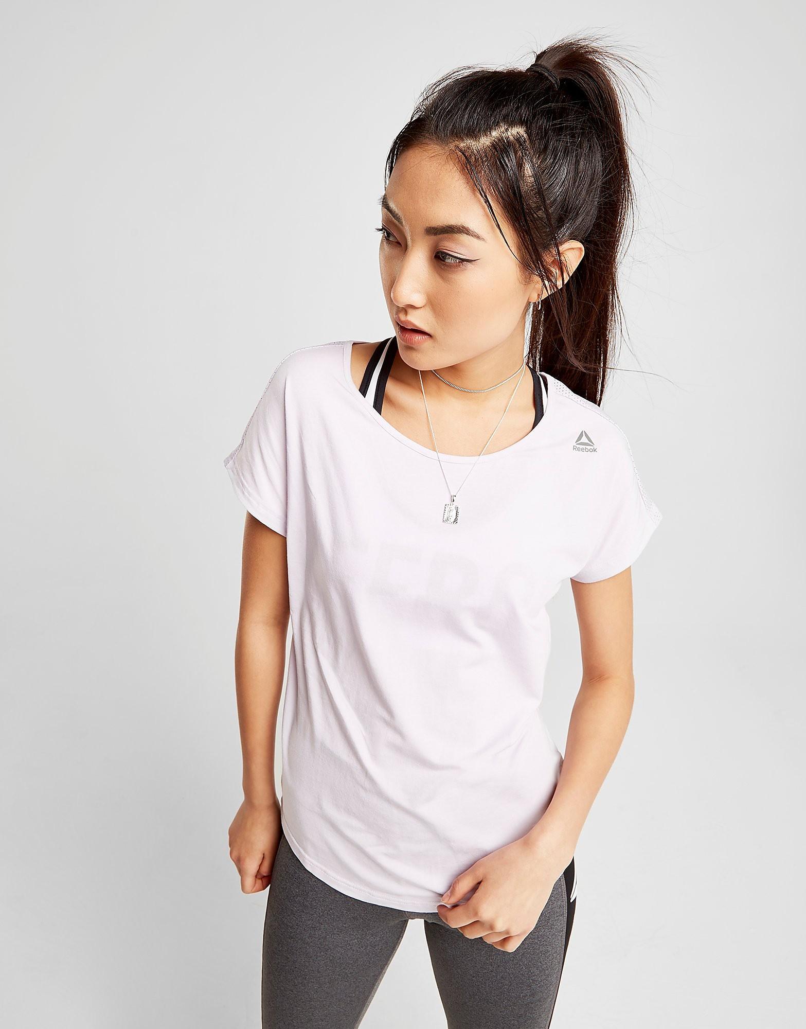 Reebok Mesh Back T-Shirt