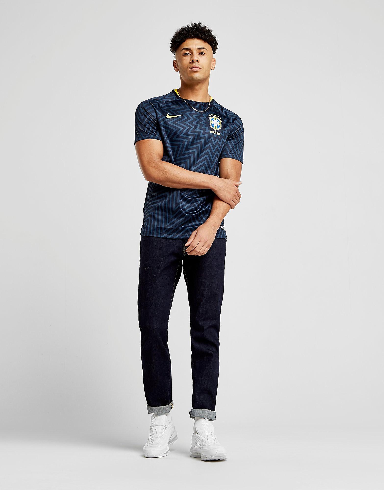 Nike Brazil Pre Match Squad Shirt