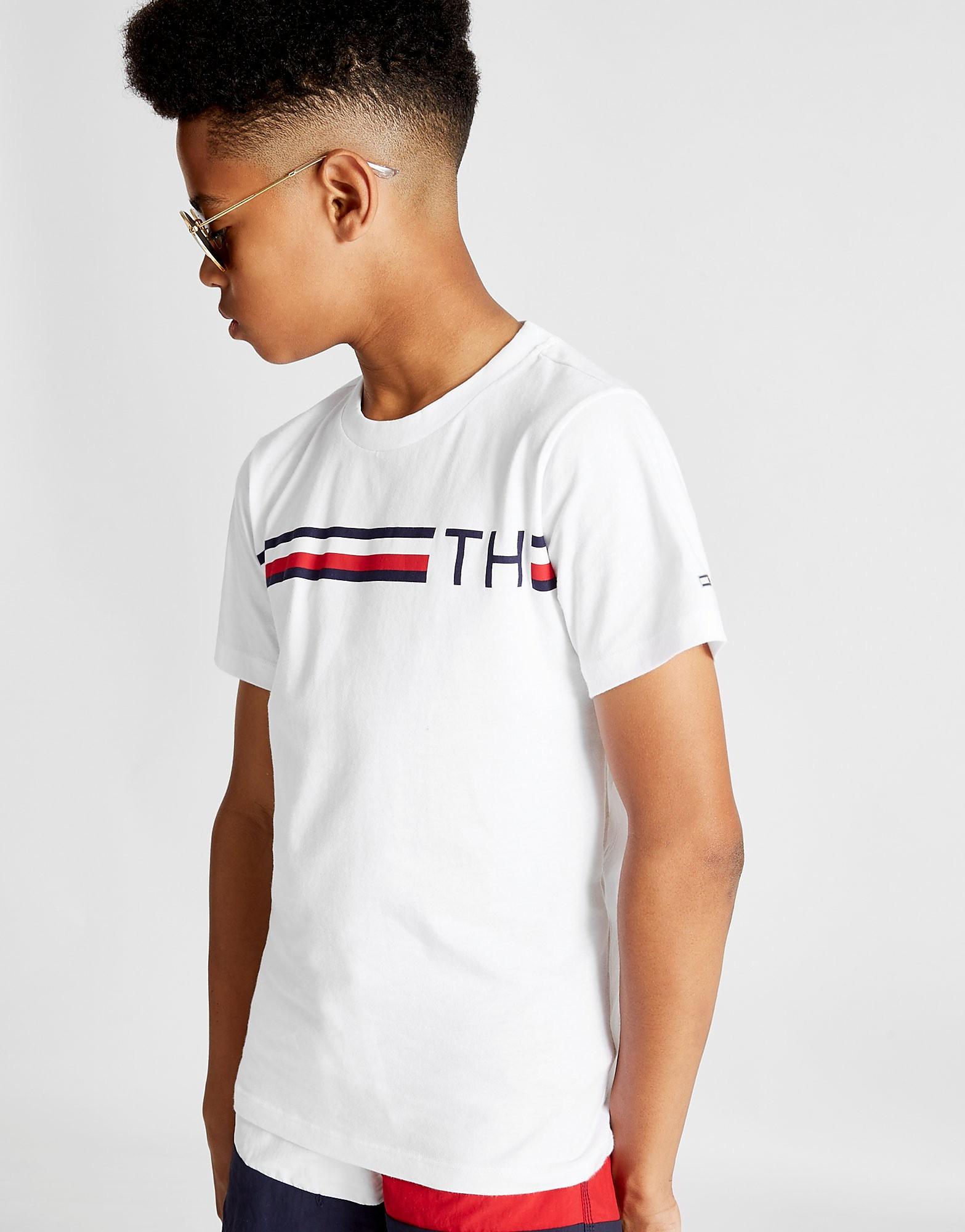 Tommy Hilfiger Global Stripe Short Sleeve T-Shirt Junior