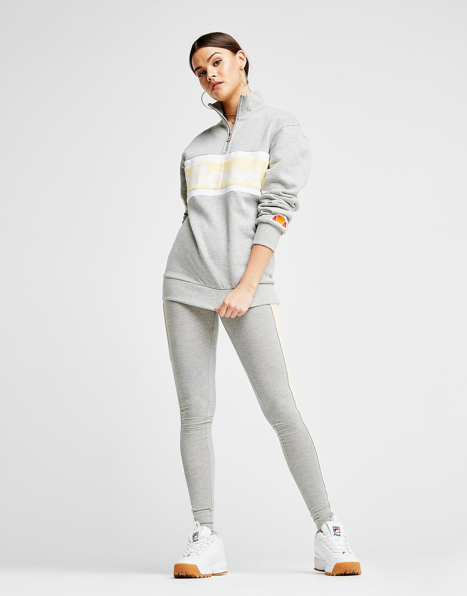 Ellesse Panel 1/4 Zip Sweatshirt