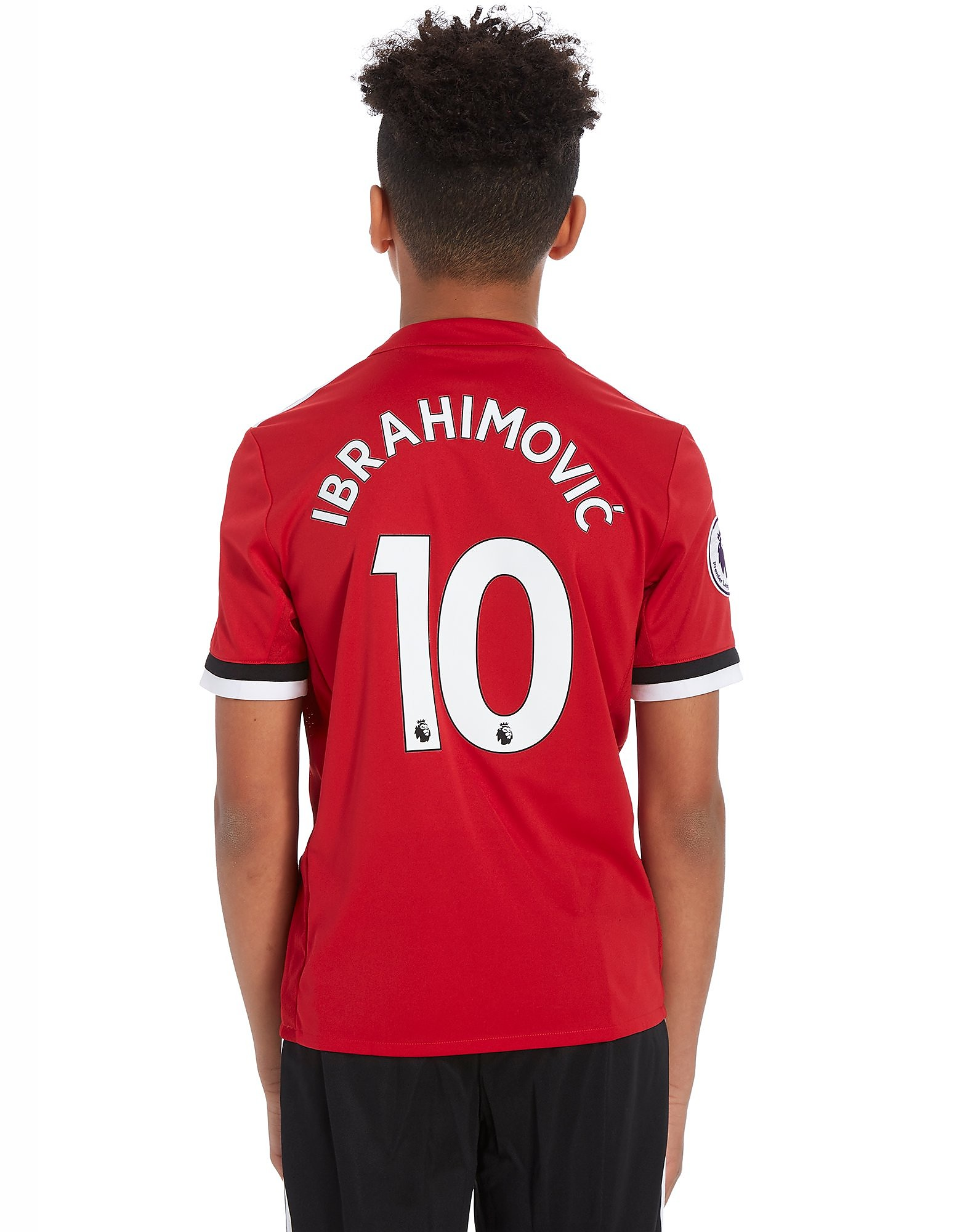 adidas Manchester United Home 2017 Ibra #10 Shirt Junior