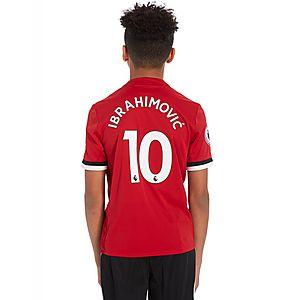 adidas Manchester United Home 2017 Ibra  10 Shirt Junior ... f1a77c8c6