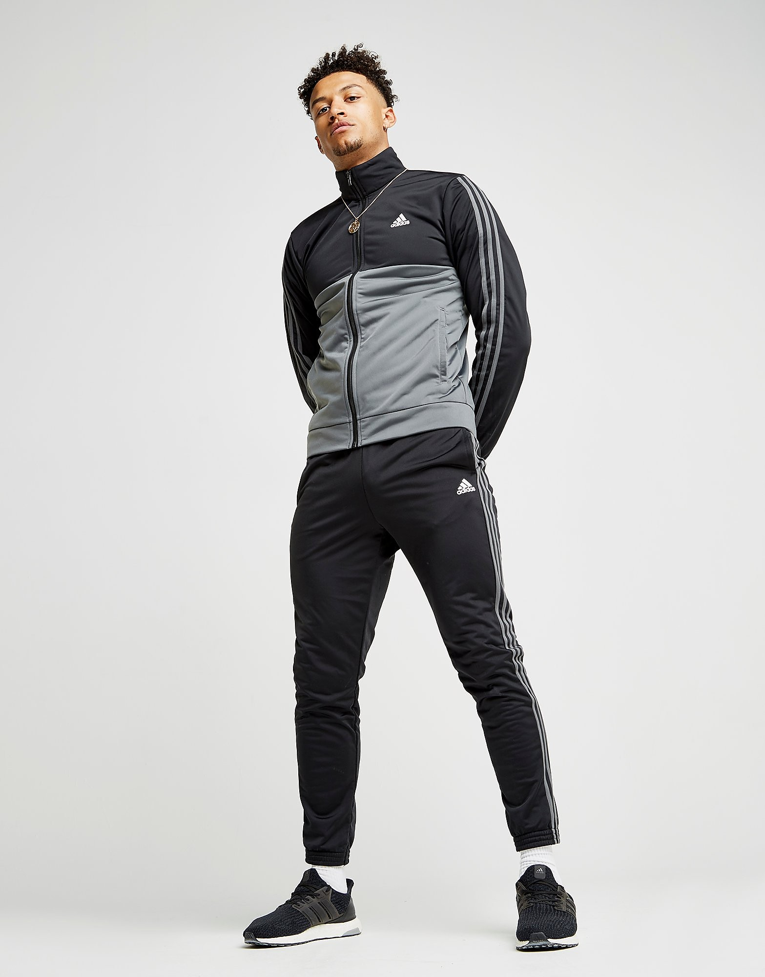 adidas 3-Stripes Poly Tracksuit