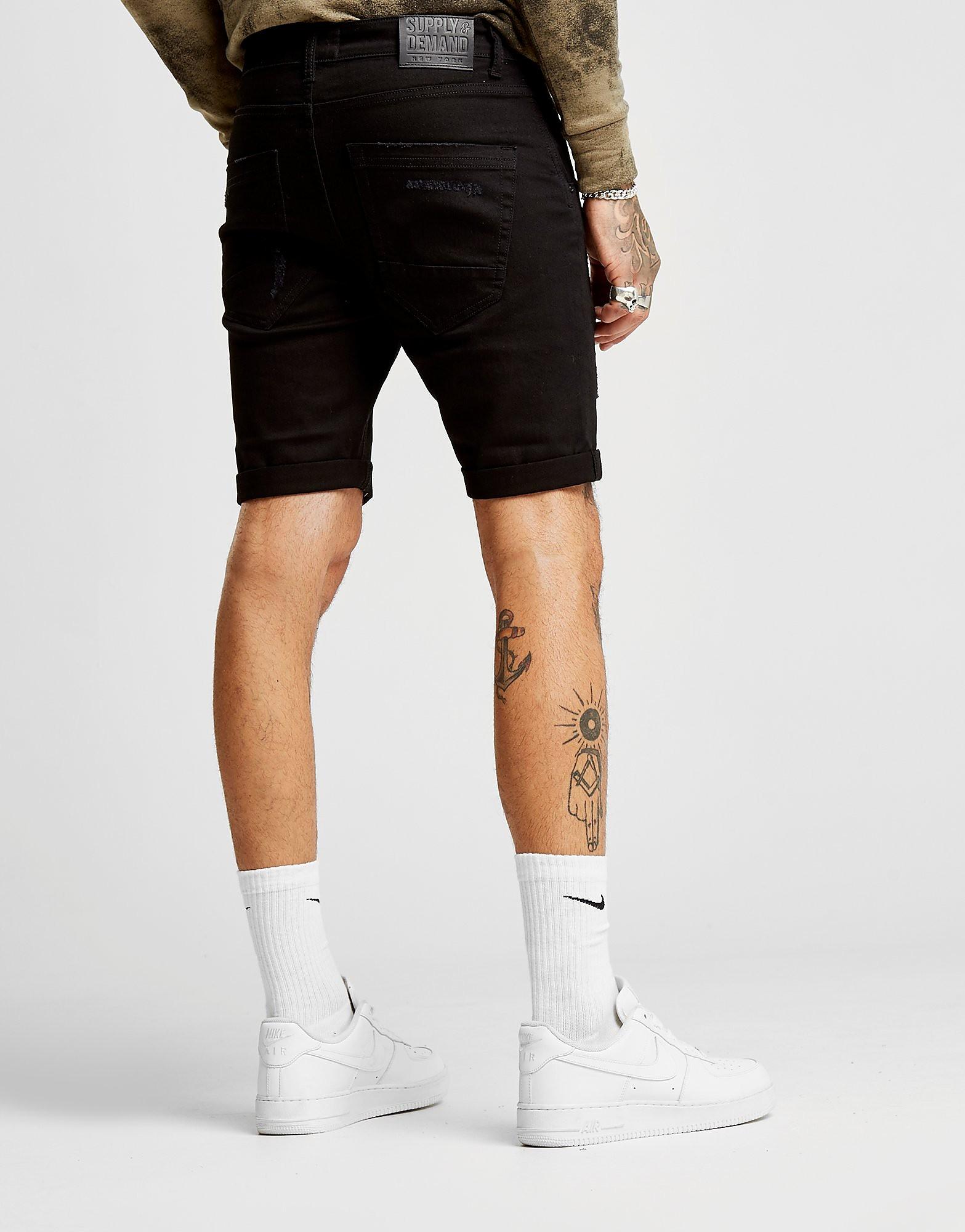 Supply & Demand Benji Denim Shorts